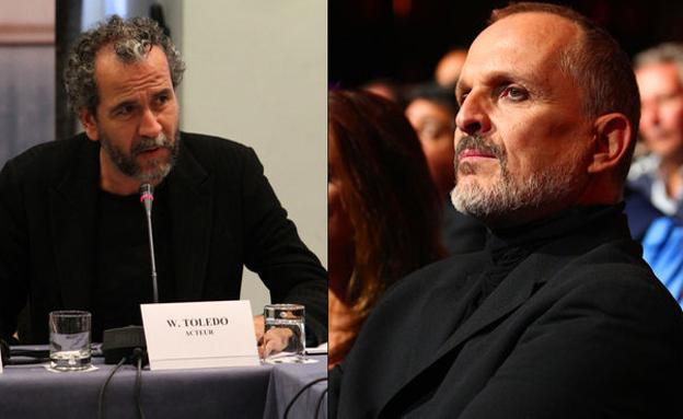 Willy Toledo y Miguel Bosé./
