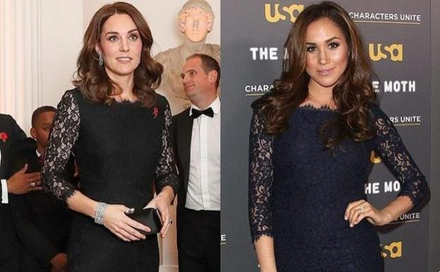 Kate Middleton y Meghan Markle./