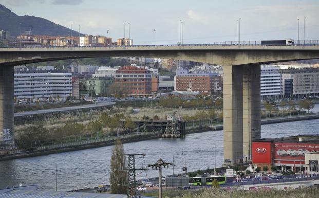 Un túnel subfluvial y dos puentes, las alternativas a Rontegi | El ...