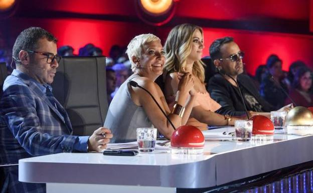 El jurado de 'Got Talent'./TELECINCO