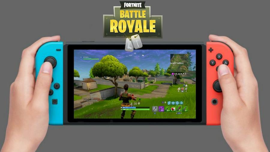 Fortnite llegó oficialmente al Nintendo Switch | Tecnología
