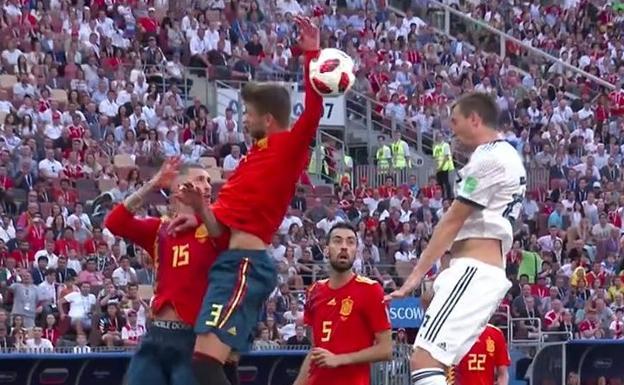 España se quedó afuera del mundial y sigue Rusia