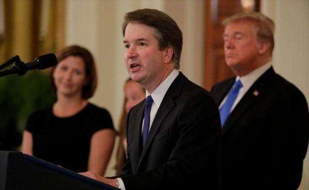 Brett Kavanaugh el juez conservador nominado por Donald Trump./Afp