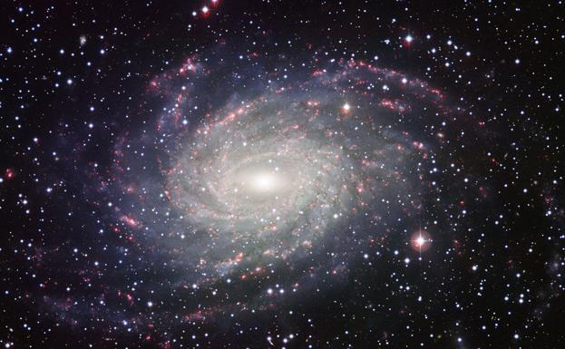 NASA capta imagen de la 'hermana mayor' de la Vía Láctea