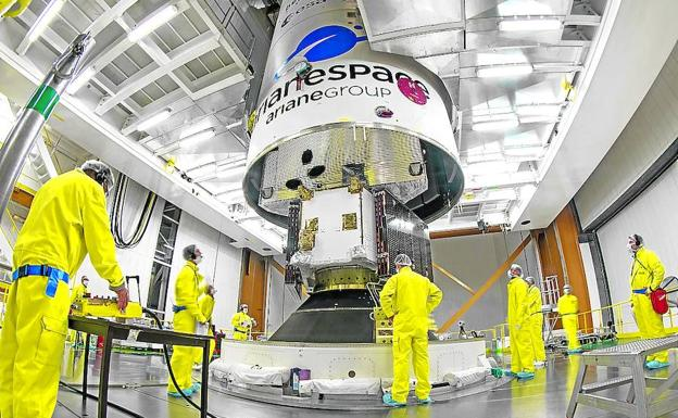 La primera misión europea a Mercurio despega con éxito