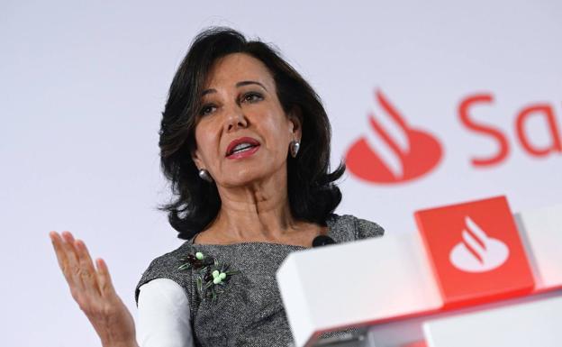 Ana Botín compra un millón de acciones del Santander por 3,6 millones
