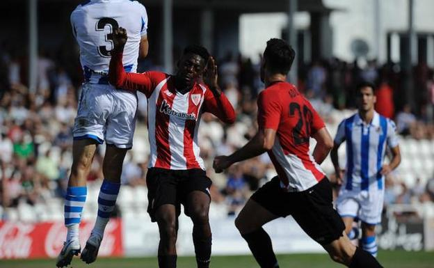 Un gol de Williams da al Athletic la EH Txapelketa