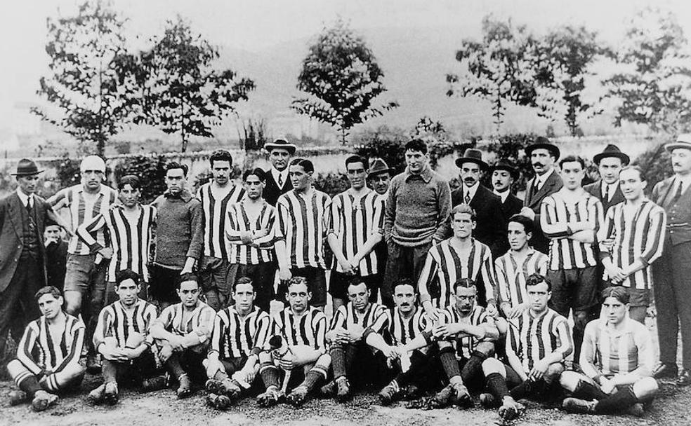 La plantilla del Athletic.