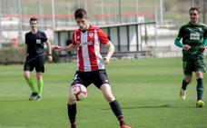 Sancet, en un partido amistoso con el Athletic en marzo./Athletic Club