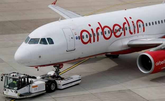 Aeronave de Air Berlin./EFE