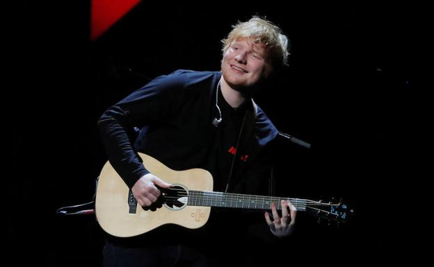 Ed Sheeran. /Reuters