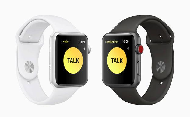 Walkie-talkie en watchOS 5