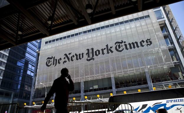 Sede de 'The New York Times'.