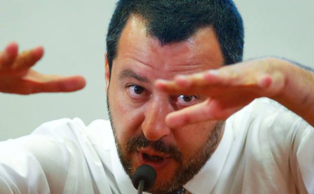 Matteo Salvini. /Reuters