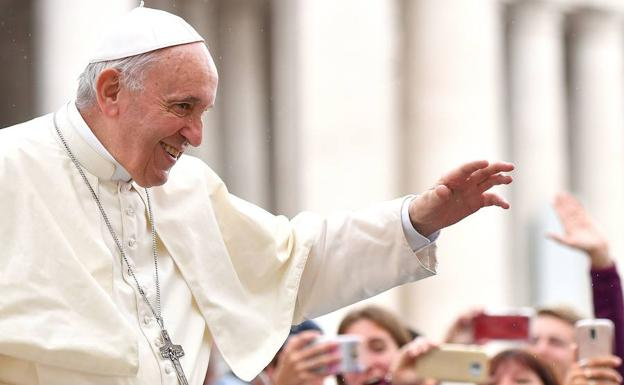 El papa Francisco.