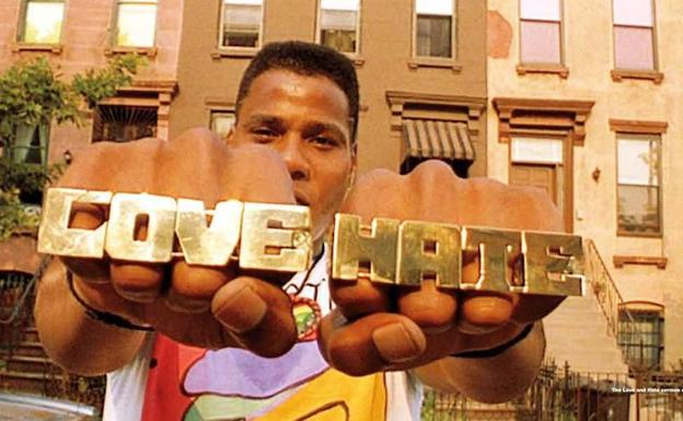 'Do the Right Thing' (Haz lo que debas), la película que dio a conocer a Spike Lee, estaba inundada de música hip hop./