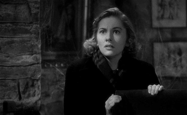 Joan Fontaine en 'Rebeca'.