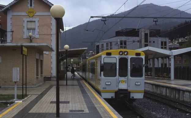 Estación de tren de Balmaseda./E. C.