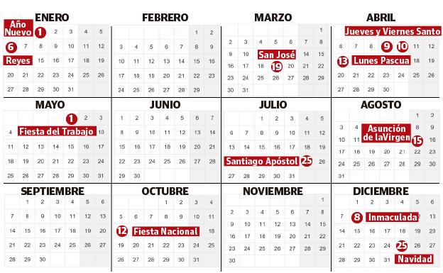 Calendario Laboral 2020 Sevilla.Calendario Laboral 2020 Euskadi 2 Puentes Y 2 Sabados Festivos El