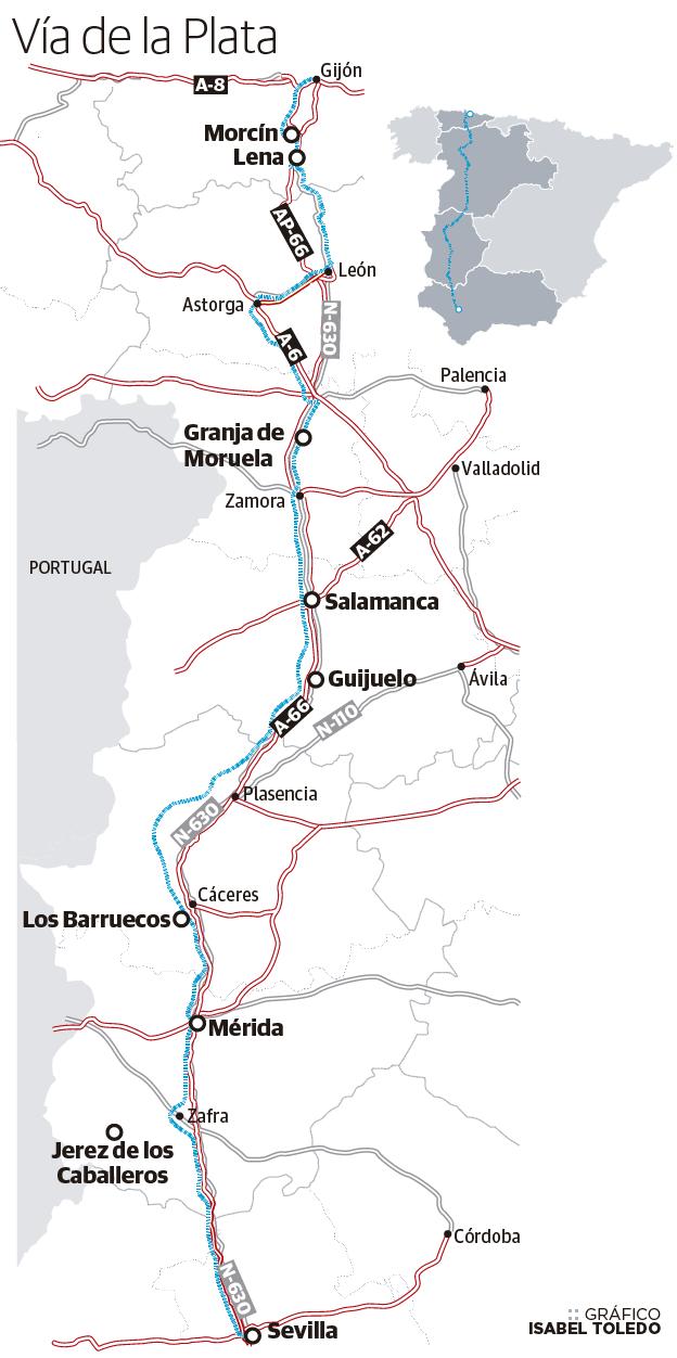 La Ruta De La Plata Un Camino De Culturas El Correo