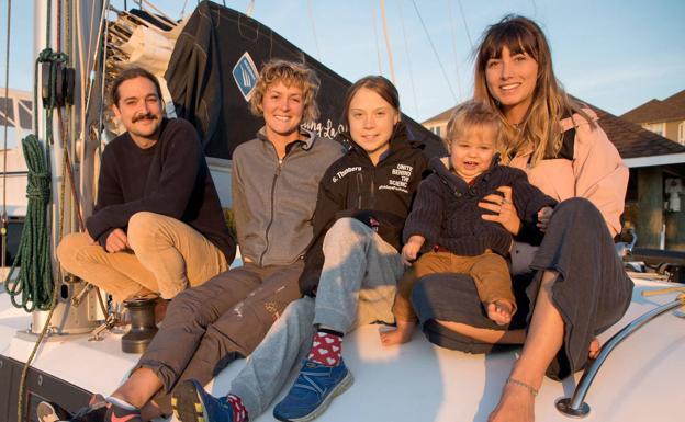 La activista Greta Thunberg consigue un barco para llegar a la Cumbre del Clima de Madrid