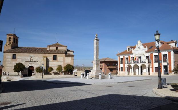 Plaza de Villalar de los Comuneros.