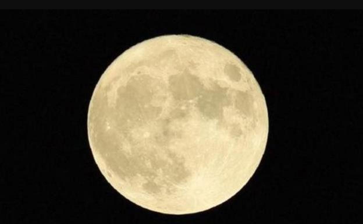 Resultado de imagen de super luna 9 de marzo 2020