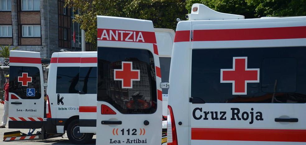 Lekeitio dona medio centenar de camas a la Cruz Roja para luchar contra el coronavirus