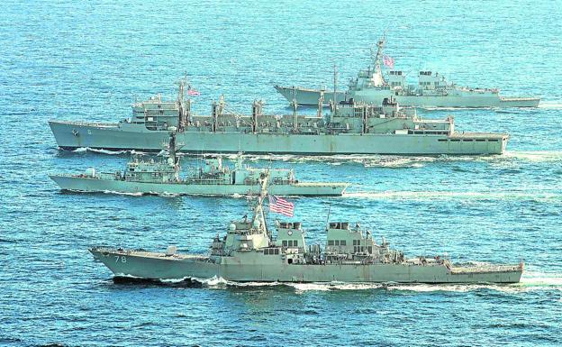 Des navires de la marine américaine naviguent déjà dans les eaux arctiques.