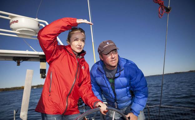 Alexandra Cousteau. nieta del mítico naturalista francés.