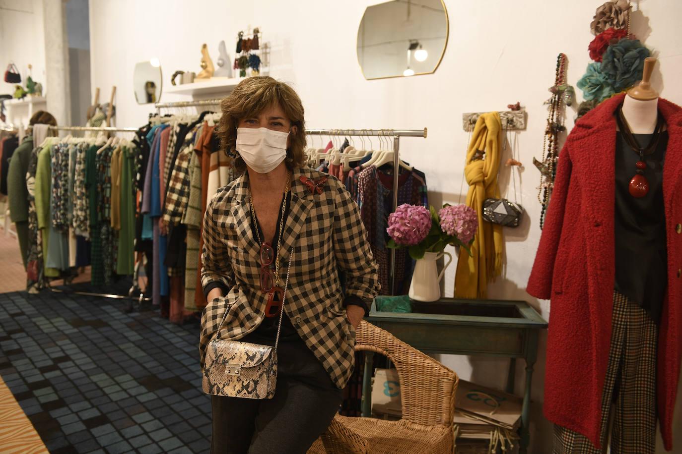 Cristina Barrilero, de la tienda madrileña '23', en su puesto.