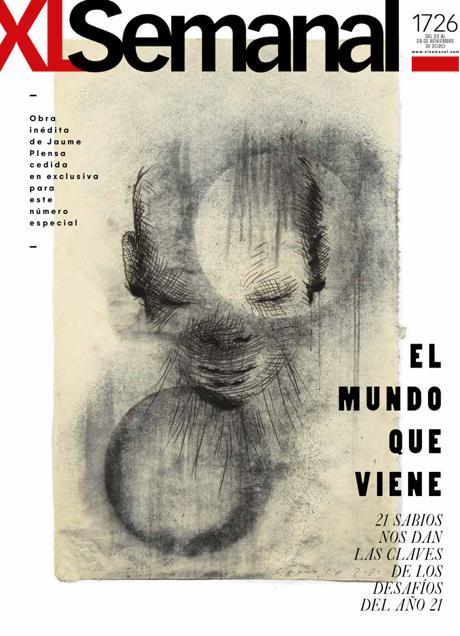 Jaume Plensa ha dibujado la portada del 'XL Semanal'.