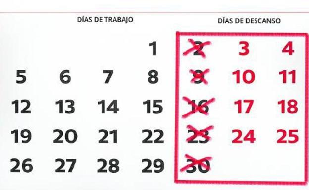 Así podría ser la jornada laboral de 4 días en España | El Correo