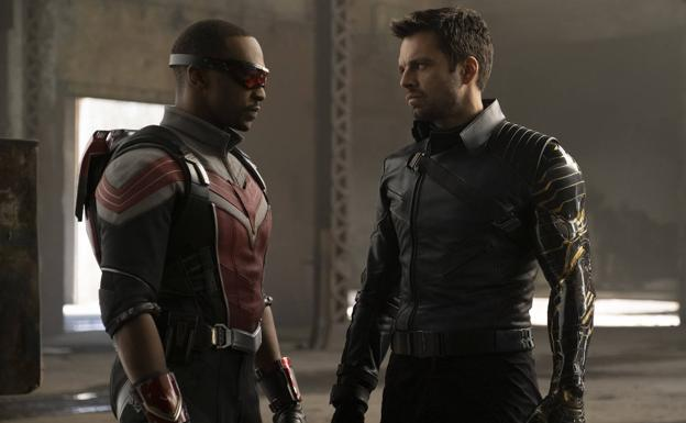 The protagonists of 'Falcon and the Winter Soldier'.