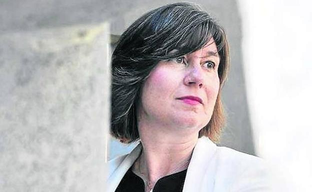 Alba Urresola, president of the Basque Competition Authority.