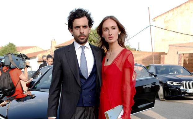 Alonso Aznar and Renata Collado.
