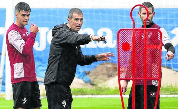 Garitano has returned to Eibar, where he started as a coach.