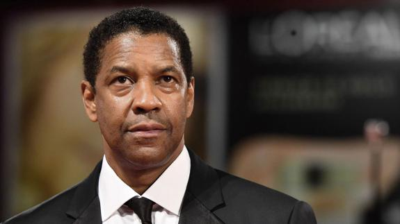 El actor y director estadounidense Denzel Washington./