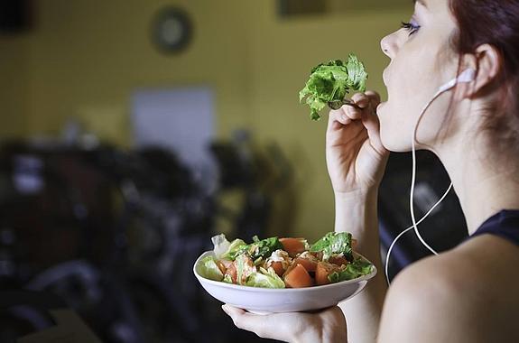 alimentos antes de una media maraton