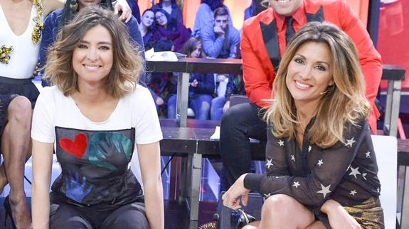 Sandra Barneda Y Nagore Robles Presentadoras De Telecinco